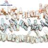 CAMDOE DANLEN Pearl 15x20mm Biwa Baroque Reborn Keshi Pearl Beads Natural Freshwater Pearl Loose DIY Beads