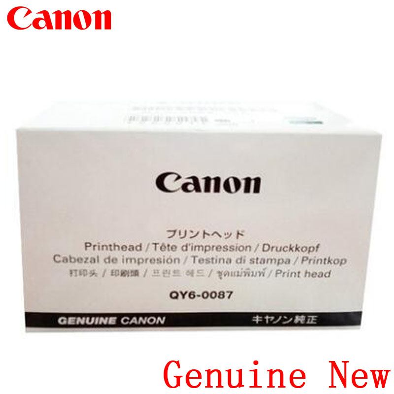 Genuine New QY6-0087 Printhead Print head Canon IB4020 IB4050 IB4080 IB4180 MB2020 MB2050 MB2320 MB2350 MB5020 MB5050 MB5080 genuine brand new qy6 0083 printhead print head for canon mg6310 mg6320 mg6350 mg6380 mg7120 mg7140 mg7150 mg7180 ip8720 ip8750