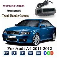 Car Rear View Camera For Audi A4 2011 2012 Instead of Original Factory Trunk Handle Camera / Reversing camera Backup