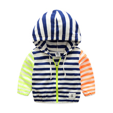 Baby boys clothes spring fashion casual kids boy jackets cotton zipper hooded children boys coats out