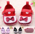 In Stock! Baby Girls Shoes, Toddler infant dress first walker little girls cute soft sole shoes 6pairs/lot c23