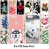 TAOYUNXI For Case ZTE Blade Z MAX Z982 Case For ZTE Z Max Pro 2 For ZTE Zmax Sequoia Silicon Painting Animal Follower Patterned