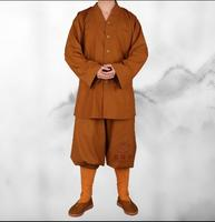 Cassock Monk Clothing Small Gown Habitat Suits Chinese Traditional Costumes