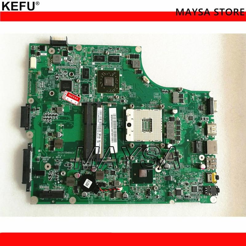 KEFU MB.PTN06.001 MBPTN06001 for Acer 5820 5820TG Laptop Motherboard DAZR7BMB8E0 HM55 HD5650 for acer 5820 5820t laptop motherboard mbpyf06001 mb pyf06 001 dazr7mb16c0 hm55 ddr3