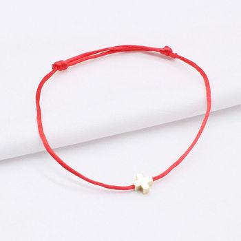 2019 new Lucky Heart star Bracelet For Women Children Red color Rope String Adjustable Handmade Bracelet Jewelry simple Bracelet 5
