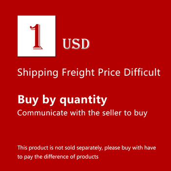 1 USD for Personal Customization , Freight and the Difference