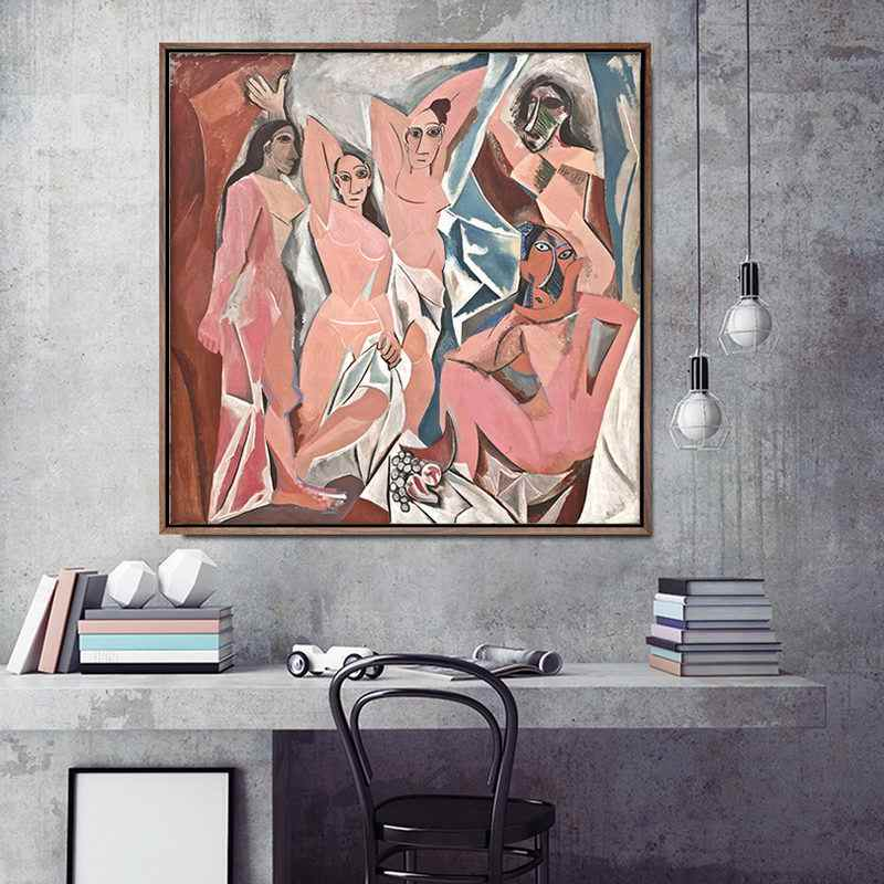 Home Decoration Print Canvas Art Wall Pictures For Living Room Poster Canvas Printings Square Paintings French Pablo Picasso
