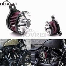 Мотоцикл CNC алюминиевый воздухоочиститель Впускной фильтр для Harley Sportster 1200 XL883 x48 1991-2016 на заказ