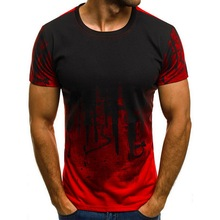 NIBESSER Fashion Men T Shirt Slim Fit Streetwear Short Sleeves T Shirt Casual Brand Male Stylish
