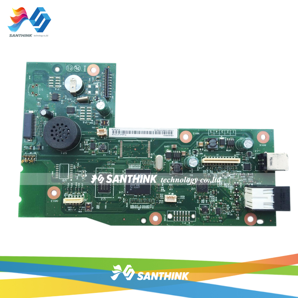 Original LaserJet Printer Main Board For HP M1218 M1218nfs 1218 1218NFS 1218NF CE408-60001 Formatter Board Mainboard ce832 60001 mainboard main board for hp laserjet m1213 m1212 m1213nf m1212nf 1213 1212 printer formatter board