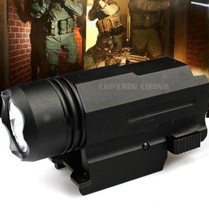 Escopeta LED Rifle Glock Gun Flash Light Tactical Torch Linterna con - Caza - foto 2