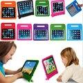 Niños soporte de la manija de espuma eva case cubierta a prueba de golpes para ipad air2/air para el ipad 5/6 para ipad pro + pantalla de cine mejor regalo para los niños