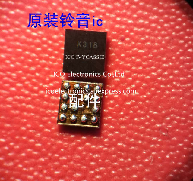 K318 For Redmi 4A Ringing IC For Redmi NOTE 4X Audio Amplifier Code chord  chip