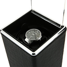 Automatic Rotation Watch Box Winder Display Boxes Transparen