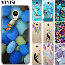 VIYISI Phone Case For Meizu U20 10 M6 5 Note M5S 5C M3 3s Pro6 Butterfly Feather Silicone Protective Cover