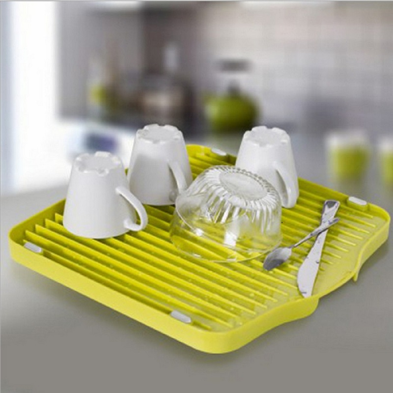 Draining Storage Tray Sumshun Multifunctional Silicone Draining Storage Rack Fruit Plate Function Kitchen And Accessories