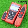 Nf-308 de usos múltiples de Prueba de Cable de Red KELUSHI Caza clasificación cable de prueba de longitud de cable coaxial 5E 6E RJ45 Envío Gratis