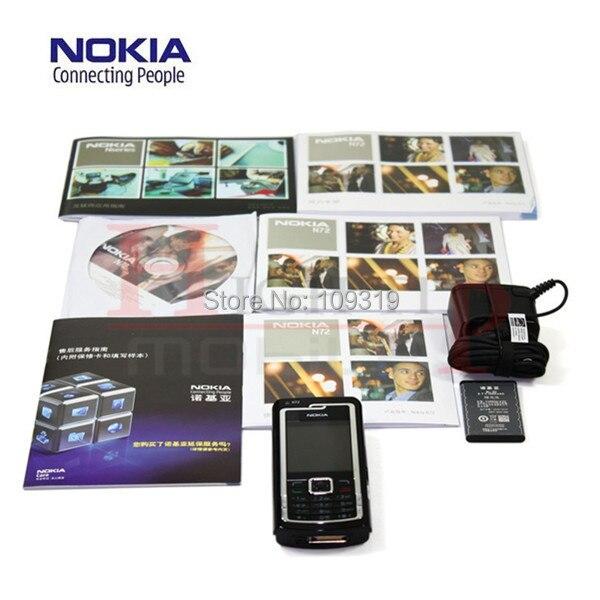 US $45 68 |Refurbished N72 Original Nokia N72 โทรศัพท์มือถือวิทยุ FM 2MP  Bluetooth Jave ฟรี 1 ปี-ใน โทรศัพท์มือถือ จาก