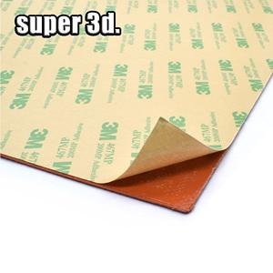 Image 5 - סיליקון מחומם מיטת כרית חימום עמיד למים 220/300x30 0/310/235/400mm 12V/220/110 V עבור 3D מדפסת Ender 3 cr10 חלקי חמה מיטה