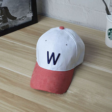 Hot Sale Autumn Winter Warm Cloth Letter Women Baseball Cap Sports Golf Hat Letter Suede Baseball Caps Men Unisex Pre-design
