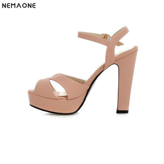 Chaussures femme 2019 Femmes Sandales Mode Haute Talons Chaussures Sexy  Cheville Bretelles D\u0027été À
