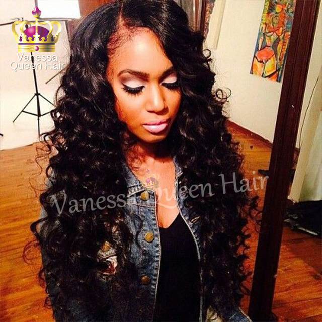 Cheap Synthetic Wigs Black Hair Body Wavy Synthetic Lace Front Wigs With  Baby Hair side Part Hair Wig for black women c05cf5fcfb