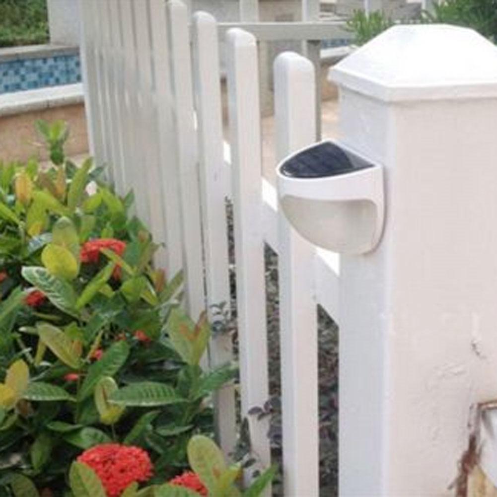 led solar light waterproof outdoor solar power panel 6 led solar lamp fence pathway lampe. Black Bedroom Furniture Sets. Home Design Ideas