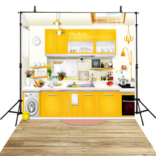 Kitchen Photography Backdrops Restaurant Backdrop For Photography Children  Background For Photo Studio Party Foto Achtergrond(