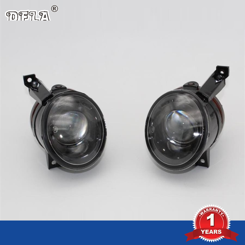 2pcs Car Light For VW Polo Vento Sedan Saloon 2011 2012 2013 2014 2015 2016 Car-Styling Halogen Fog Light Fog Lamp Convex Lens right side for vw polo vento derby 2014 2015 2016 2017 front halogen fog light fog lamp assembly two holes
