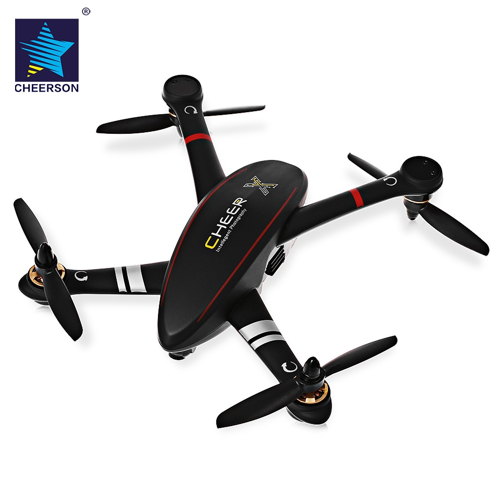 Original cheerson CX-23 alegría brushless RC quadcopter RTF 5.8g FPV 2mp cámara/altitud GPS/ OSD dual de telemetría bidireccional
