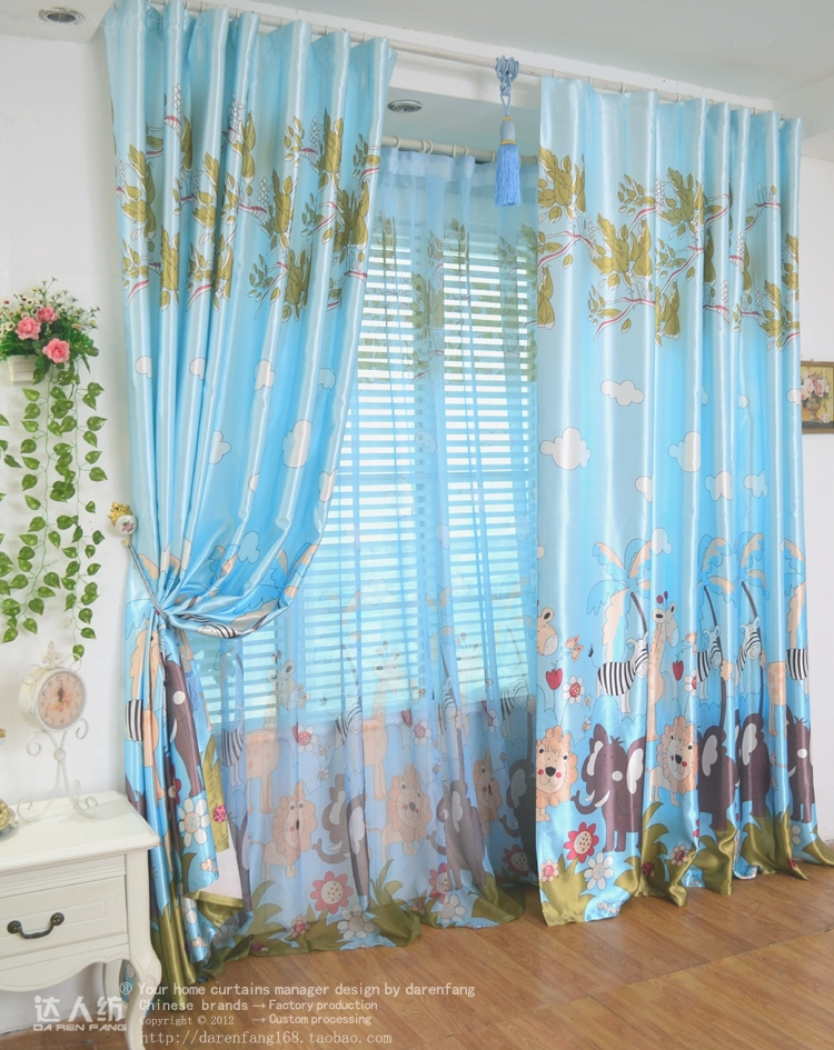 Hot Textiles Bedroom curtains Recessionista child real curtain real ...