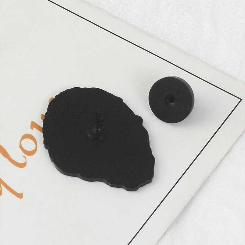 Винсента Ван Гога и наушники художника мультфильма брошь, эмалированный штифт значок булавки на лацканы значки культуры ювелирные изделия подарок для друзей