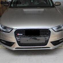 Для Audi A4 RS4 стиль хромированная рамка переднего бампера решетка решетки 2013