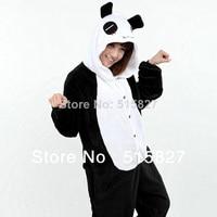 Winter Adults Cartoon Red Tears Panda Onesie Cosplay Costume Unisex Pajamas