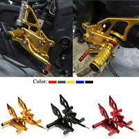 For Yamaha R3 R25 YZF R3 Motorcycle Accessories CNC Aluminum Alloy Adjustable Rear Sets Rearset Footrest Foot Rests Pegs 2014 16