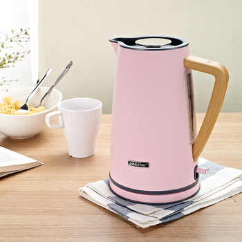 1.7L electric kettle stainless 220v Auto Power-off Protection handheld Instant Heating Electric Kettle