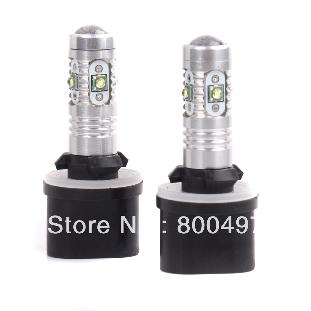 2 x 880 H27W/1 PG13 25W  12V Super White High Power Auto LED Fog Light Bulbs Car Driving Daytime Running Lamp Bulbs wifi ipc 720p 1280 720p household camera onvif with allbrand camera free shipping