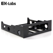 En-Labs 3.5 to 5.25 Floppy to Optical Drive Bay Mounting Bracket Converter for Front Panel,Hub,Card Reader,Fan Speed controller(China)