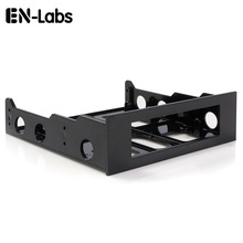 3.5 to 5.25 Floppy to Optical Drive Bay Mounting Bracket Converter for Front Panel,Internal Hub,Card Reader,Fan Speed controller 1 pcs usb 3 0 20 pin 2 ports front panel floppy disk bay hub bracket cable
