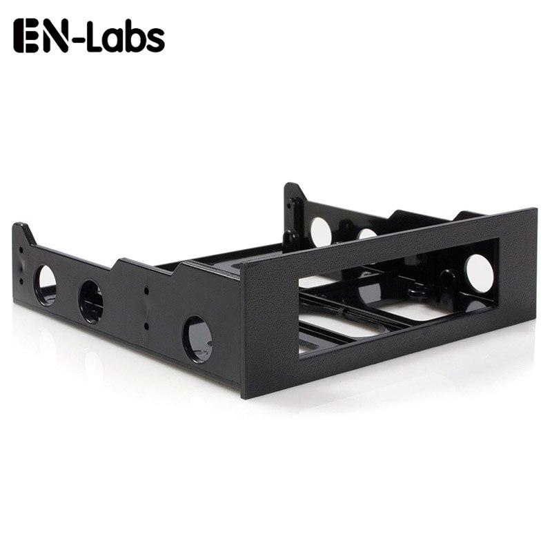 Ausdrucksvoll En-labs 3,5 Zu 5,25 Floppy Zu Optisches Laufwerk Bay Montage Halterung Konverter Für Front Panel, Hub, Kartenleser, Fan Speed Controller Exzellente QualitäT