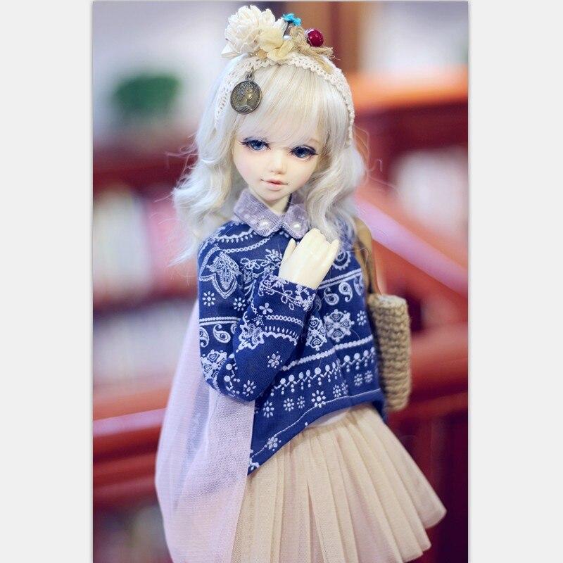 Le bnua Lusis BJD Poupées 1/4 corps modèle bébé filles garçons poupées yeux luts dollsoon dollmore jouets boutique résine anime accessoire