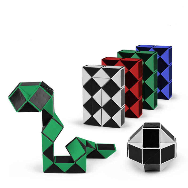 24 Sections Magic Cube Snake Ruler  Magic Snake Twist Puzzle Hot Selling  Package:1pcs