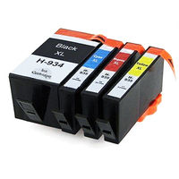 Hot Classic Cartridges 4 Pack 934XL 935XL Reman Ink Cartridges For HP Officejet Pro6230 6830 6835