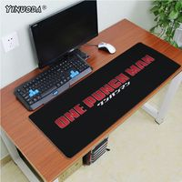 Yinuoda High Quality One punch man Unique Desktop Pad Game Mousepad Size 180*220 200*250 250*290 300*600 and 400*900*2mm 5