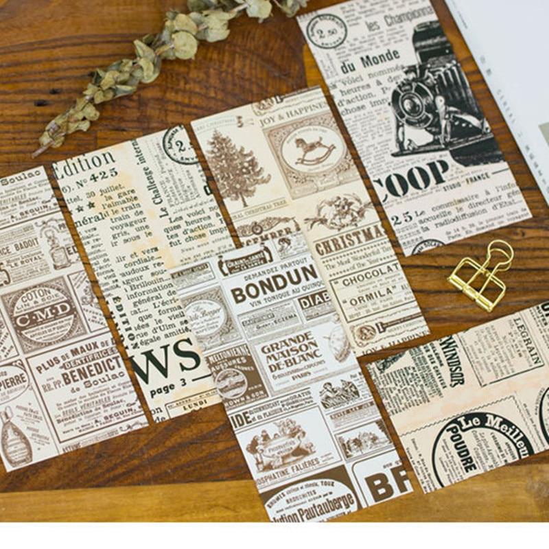 Post- & Versandmaterialien Neue 5 Teile/satz Vintage Zeitung Briefpapier Umschläge Papierumschlag Großhandel In Vielen Stilen