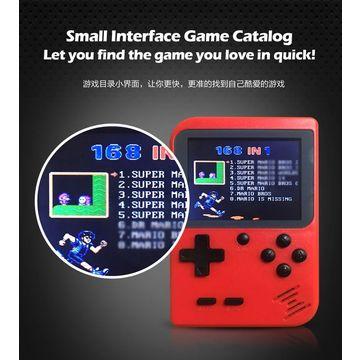 2.4 pouces 8 bits intégré 129 jeux rétro Portable lecteur de jeu Support TV poche Console de jeu Portable