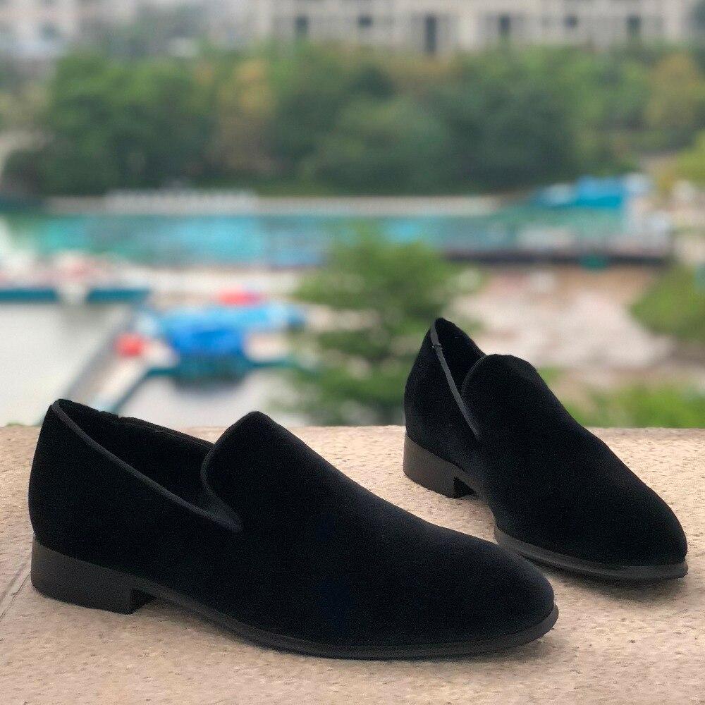 2019 Basso scarpe rosse Scarpe Flat Scarpe Picchi di Colore Misto di Cristallo D'argento casual Scarpe Da Uomo Punta Rotonda Street Style Chaussures Maschio - 3