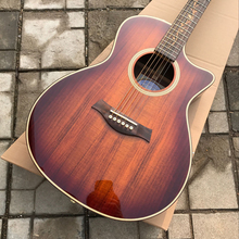 Free delivery can add electric guitar custom processing wood guitar
