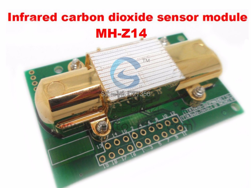 ФОТО 1PCS X Cheap sell infrared carbon dioxide modules MH-Z14 spot adequate free shipping CO2 sensor module