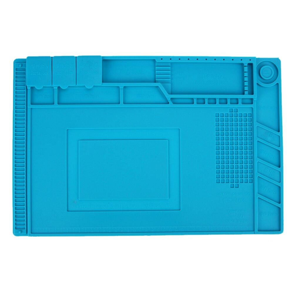 Soldering Pad Heat-resistant Heat Gun Soldering Station Repair Insulation Pad Desk Mat Silicone Pad Maintenance Platform heat pad